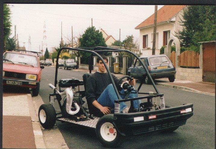 voiture sans permis kart